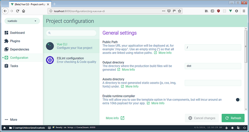 Posts Tagged: Vue CLI GUI | The Microsoftware Blog